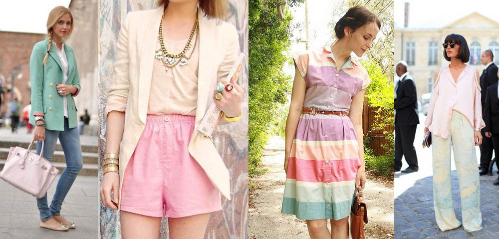 Fashion and beauty in pastel colours! | Mujeres USA